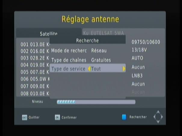 Essai metronic touchbox hd2 - Reglage antenne satellite ...