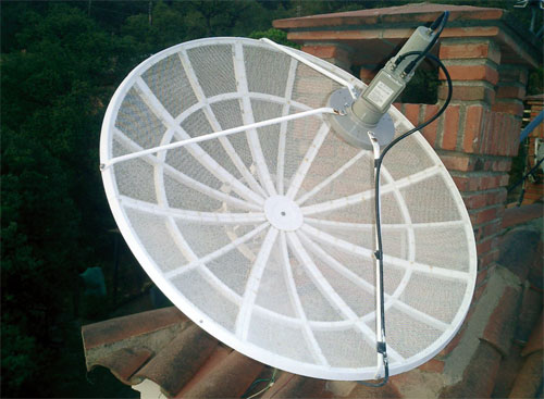 Installer et r gler une antenne parabolique motoris e for Regler son antenne satellite