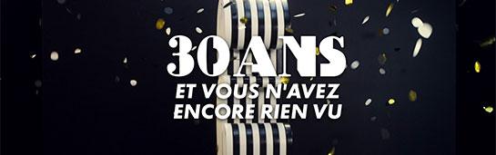 promotions canal canalsat l 39 occasion des 30 ans de l 39 op rateur. Black Bedroom Furniture Sets. Home Design Ideas