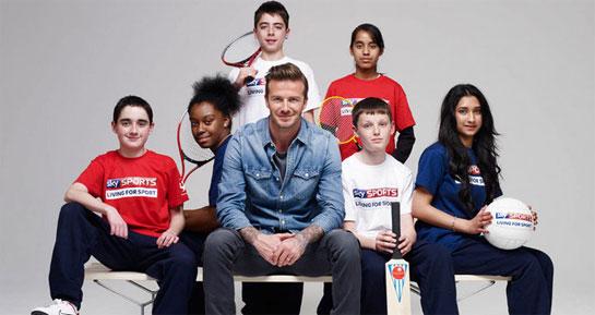 David Beckham / Sky Sports