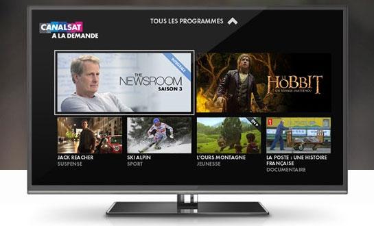 Une nouvelle interface pour canal et canalsat a la demande - Quel satellite pour canalsat ...