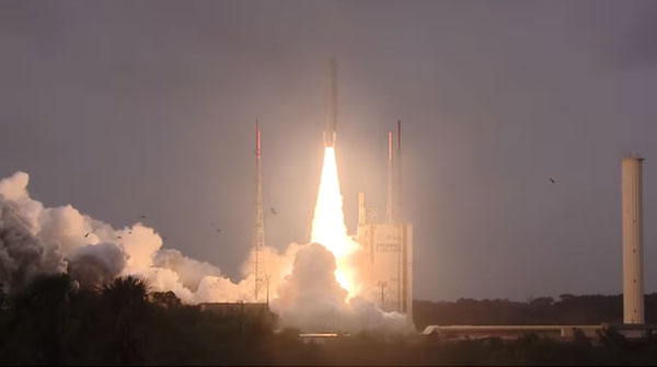 Ariane 5 : quatre satellites Galileo envoyés en orbite