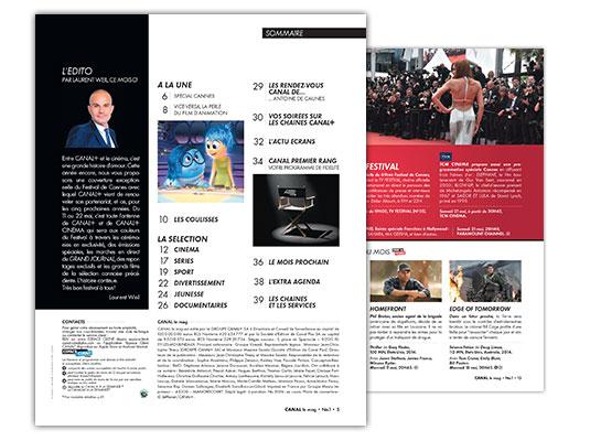 Le magazine des abonnés de CANAL+ fait son retour