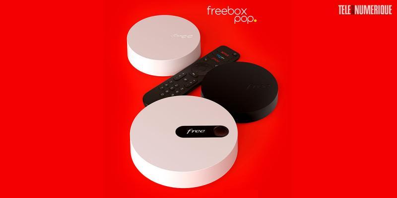 Free dévoile Pop, sa nouvelle box internet milieu de gamme