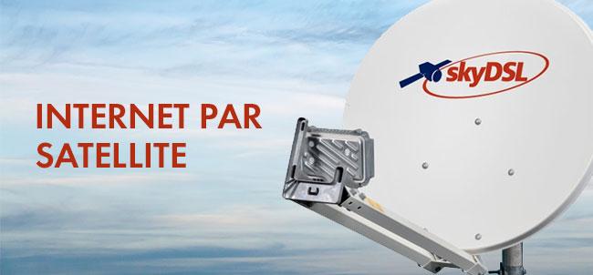 internet par satellite skydsl passe 50 mb s. Black Bedroom Furniture Sets. Home Design Ideas