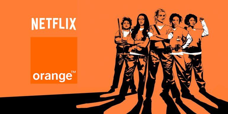orange et netflix signent un accord international. Black Bedroom Furniture Sets. Home Design Ideas
