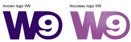 Nouveau logo W9