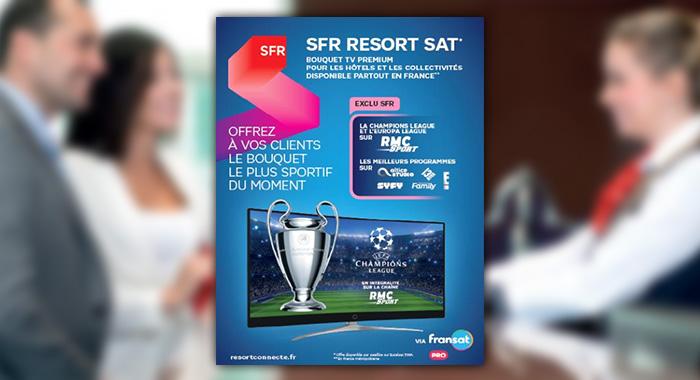 FRANSAT lance SFR RESORT SATELLITE