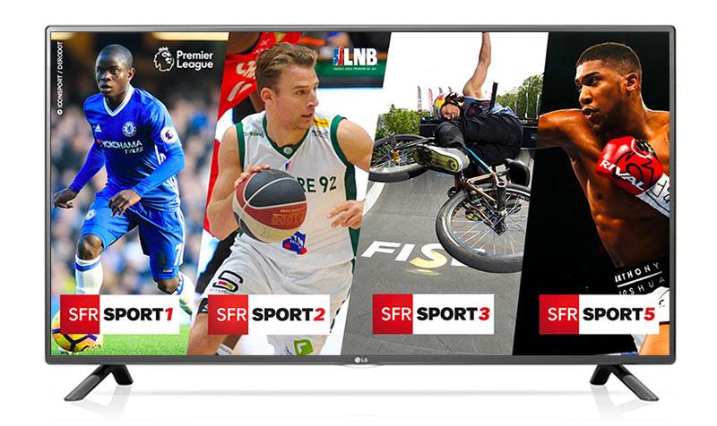SFR Sport sur Freebox mini 4K et Bbox Miami