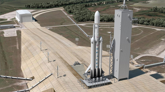 SpaceX lancera les satellites ViaSat-3
