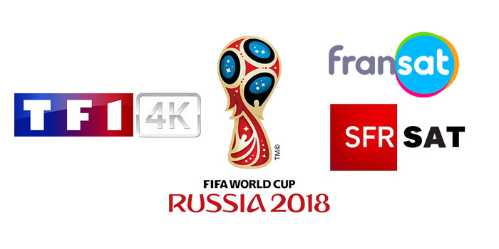 fransat la coupe du monde 2018 en 4k par satellite sur tf1 4k via sfr sat. Black Bedroom Furniture Sets. Home Design Ideas