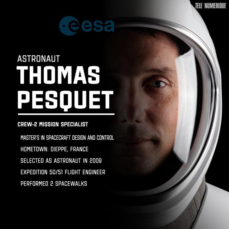Mission Alpha: décollage réussi pour Thomas Pesquet et ses coéquipiers