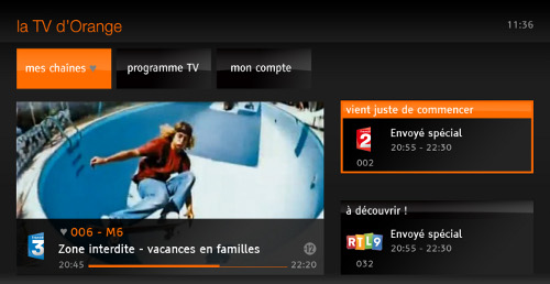 TV d'Orange / Smart TV Samsung
