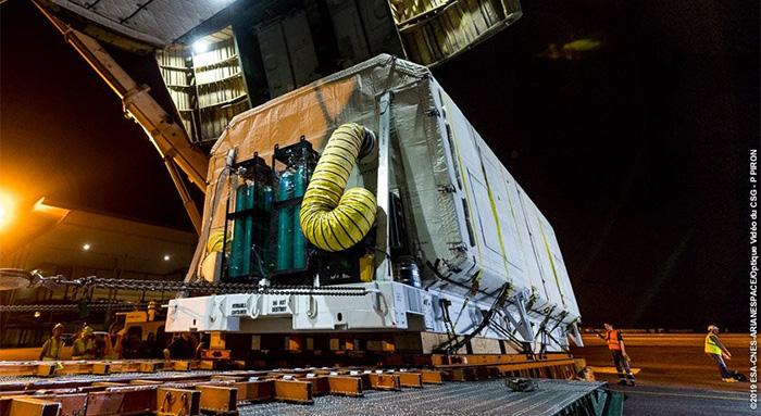 Calendrier Lancement Ariane 2019.Arianespace Les Passagers De La Mission Va247 Sont A Kourou