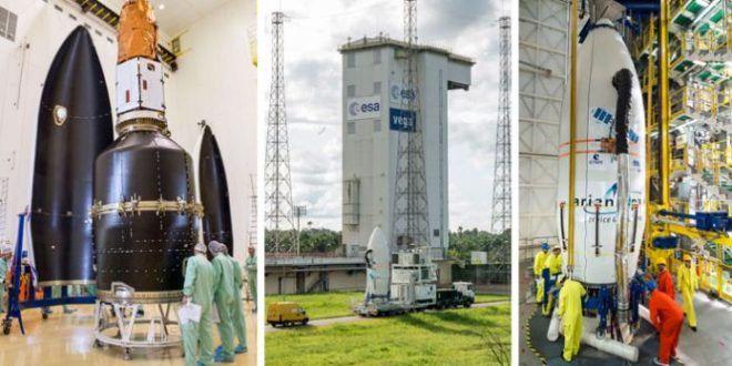 Lancement réussi de deux satellites