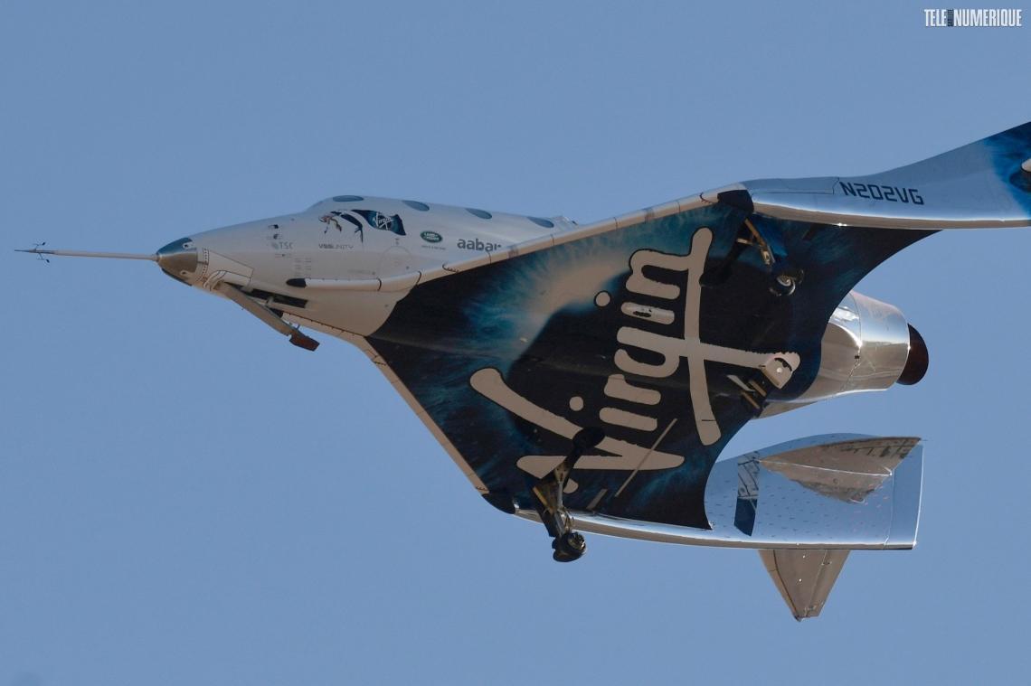 Avarie technique pour une fusée de Virgin Galactic qui fait demi-tour