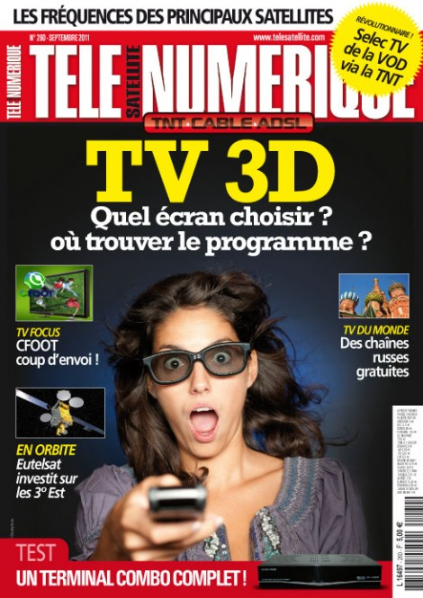 t l satellite et num rique de septembre n 260 est dans les kiosques. Black Bedroom Furniture Sets. Home Design Ideas